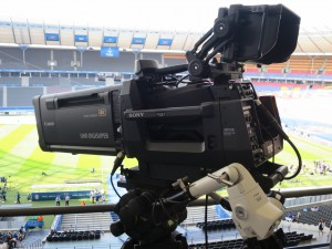 Sony's new HDC-4300 camera played a key part in the 4K production of the Champions League.
