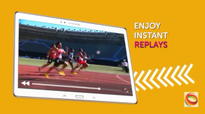 The C-Cast system enabled near–real-time replays during competition.