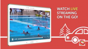 Fans could stream all competitions live on their mobile devices.