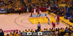 Using Vizrt's Viz Arena system allowed the virtual-ad insertion to be handled at the NBA's broadcast center.