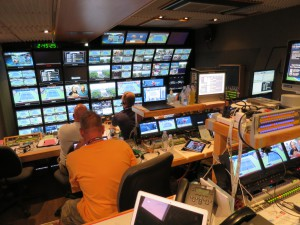 The revamped NEP's NCP VIII production unit was home for ESPN's ITV coverage of the US Open.