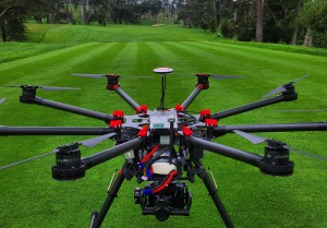Among future-facing enhancements, Fox Sports has put significant effort into integrating drones into its sports coverage. This drone was used this summer for at U.S. Open golf championship.
